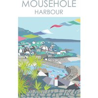 Mousehole Harbour Print