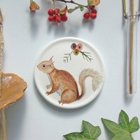 Red Squirrel Mini Wall Plate