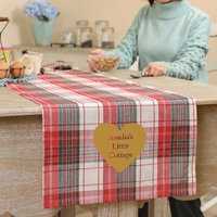 Country Kitchen Personalised Table Runner