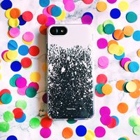 White Splat iPhone Case