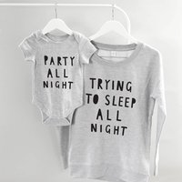 Party All Night Mother Clothing Set