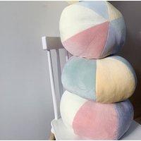 Rainbow Pinwheel Cushion