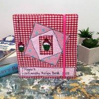 Personalised Recipe Cookery Book