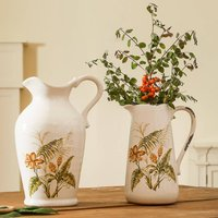 Deepdale Pressed Flower Jug And Pitcher Collection