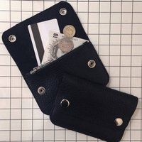 Leather Pop Coin Purse