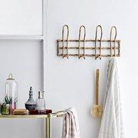 Rattan Hook Rack