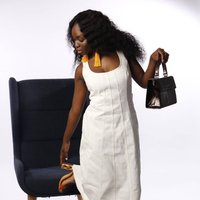 Brown Patent Crossbody Handbag