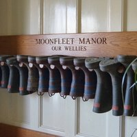 Personalised Wooden Welly Boot Wall Racks