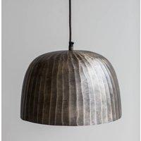 Brass Domed Pendant Light