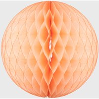 Honeycomb Paper Ball Decoration Peach
