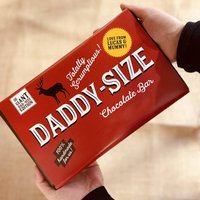 Giant Dad Sized Personalised Chocolate Bar