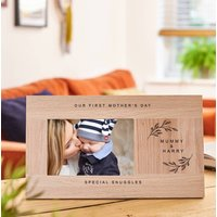Personalised 1st Mother's Day Framed Print