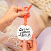 'An Aunt Is Like A Mother, Sister And Friend' Keepsake