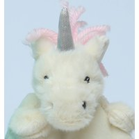 Unicorn Baby Gift Set, Finger Puppet Soother And Rattle