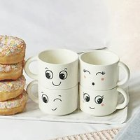 Funny Faces Mug Set