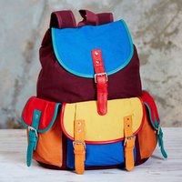 Bahu Canvas Backpack