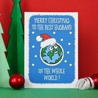Best Husband Christmas Card