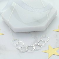 70th Birthday Infinity Link Necklace