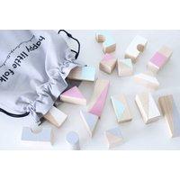 Spring Tone Wooden Blocks
