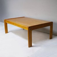1970s Danish Mid Century Modern Large Coffee Table