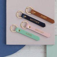 Personalised Family Keyring Set