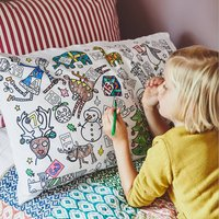 Colour In Advent Pillowcase