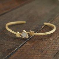 Gold Star Bracelet, Gold
