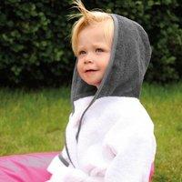 Personalised Hooded Baby Bathrobe