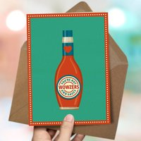 'Hot And Saucy' Love Card
