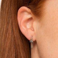 Galaxy Chained Stud Earrings