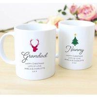 Design Your Own Personalised Christmas Mug Set