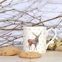 Winter Forest Fine Bone China Mug