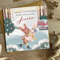 First Christmas Card|Christmas Card Sister|Brother