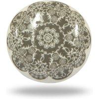 Ceramic Solden Knob Set Of Six