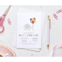 10 Elle Elephant Celebration Invitation