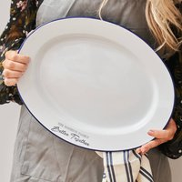 Personalised Enamel Family Serving Platter