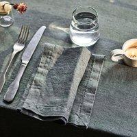 Artichoke Linen Napkins, Set Of Two