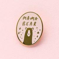 Mama Bear Enamel Pin