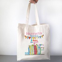 Personalised Love To Read Book Bag