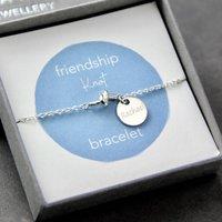 Sterling Silver Friendship Knot Bracelet, Silver