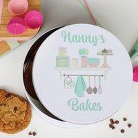 Personalised Baking And Cake Tin