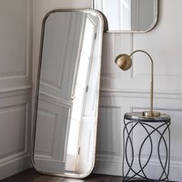 Antiqued Silver Full Length Mirror