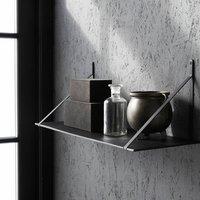 Aluminium Shelf With Iron Brackets