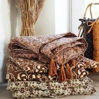 Danish Floral Print Chair Mattress