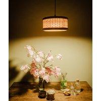 Rattan Weave Pendant Lamp Large