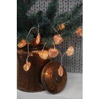 Heart Copper LED Light Chain