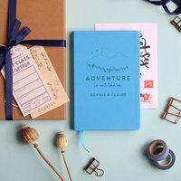 Adventure Personalised Travel Journal Notebook
