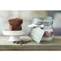 Small Vegan And Gluten Free Brownie Mix Jar