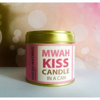Personalised Kiss, Candle In A Can