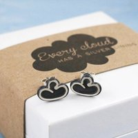 Cloud Earrings. Thinking Of You Gift For Friend